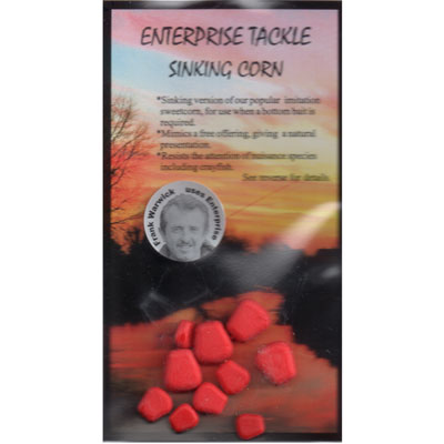 Enterprise Tackle (ARTIFICIAL / IMITATION BAITS:)  Sweetcorn SINKING ( RED ) mixed sizes