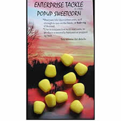 Enterprise Tackle (ARTIFICIAL / IMITATION BAITS:)  Sweetcorn Yellow Unflavoured  Pop Up