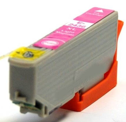 Epson T2436 Light Magenta Compatible Printer Ink Cartridges ( Light Magenta T2436 ) High Capacity (Elephant XL or 24XL)