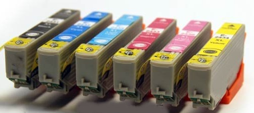 Epson T2438 Compatible Printer Ink Cartridges ( Black T2431, Cyan T2432, Magenta T2433, Yellow T2434, Light Cyan T2435, Light Magenta T2436,  ) High Capacity (Elephant XL or 24XL) 1 Full Set