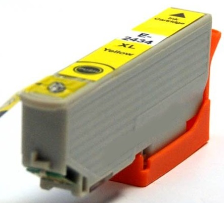 Epson T2434 Yellow Compatible Printer Ink Cartridges ( Yellow T2434 ) High Capacity (Elephant XL or 24XL)