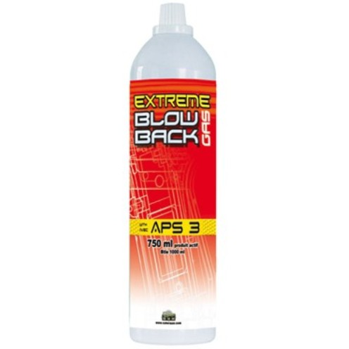 Cybergun Extreme Blowback Gas APS3 750ml ( suitable for all Gas Blow Back (GBB) Airsoft Guns )