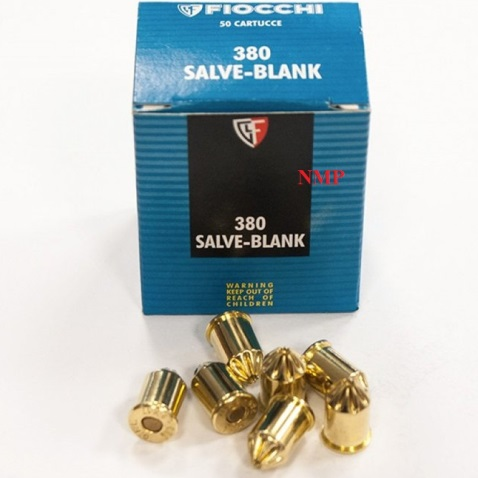 Fiocchi 9mm 380 9X17 Salve Blank (50 per box) (To be collected from store only)