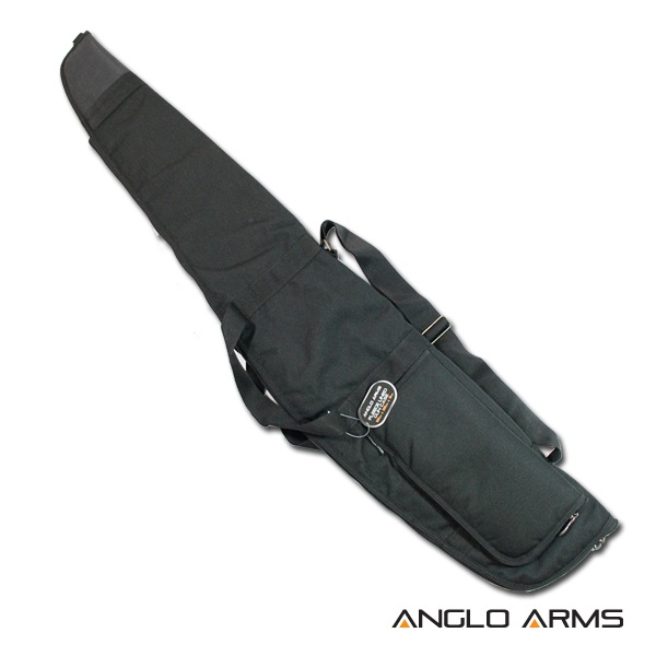50 inch Anglo Arms GUN BAG Black Rifle, Scope Air Rifle Gun case With Fleece Lined Case (053 B)