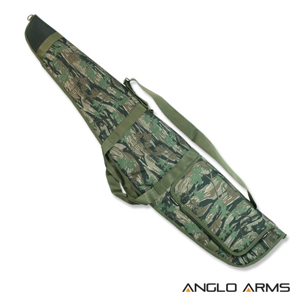 50 inch Anglo Arms GUN BAG Camouflage Rifle Scope Air Rifle Gun Slip With Fleece Lined Case (053 C) 50 inch x 10.5 inch