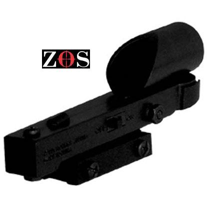 1 x 20RD P RED DOT ZOS Fits Dovetail Rail