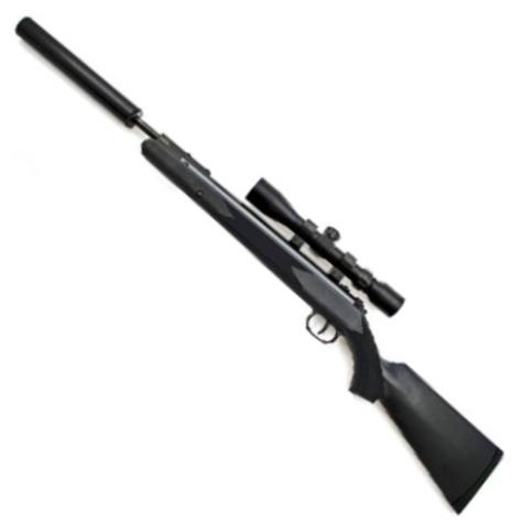 Hammerli 800 Blackforce Blackout Air Rifle & 3-9x40 Scope in 22 calibre