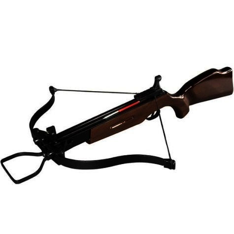 120lbs Draw ARMEX Hawk of the Forest II Recurve Crossbow dark brown/black wood stock SHOOTS 8mm BOLTS AND 8mm STEEL BALL BEARINGS