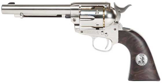 Colt Peacemaker Duke .177 Calibre Pellet Duke John Wayne Signature edition Nickel Look