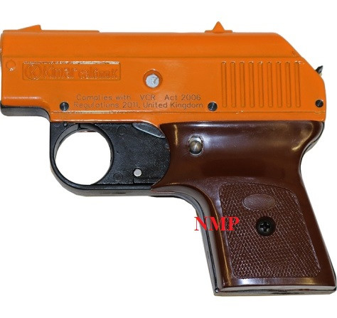 kimar 302 - ORANGE 6mm K Blank firing pistol (Dog Trainer / Starter)