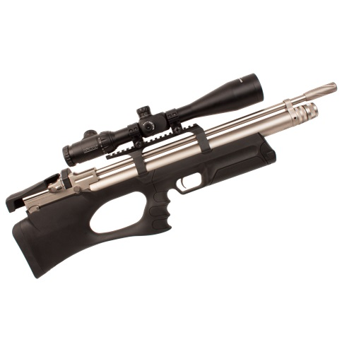 KRAL BREAKER BULLPUP PCP PRE-CHARGED AIR RIFLE .22 calibre 12 shot Marine Black Synthetic