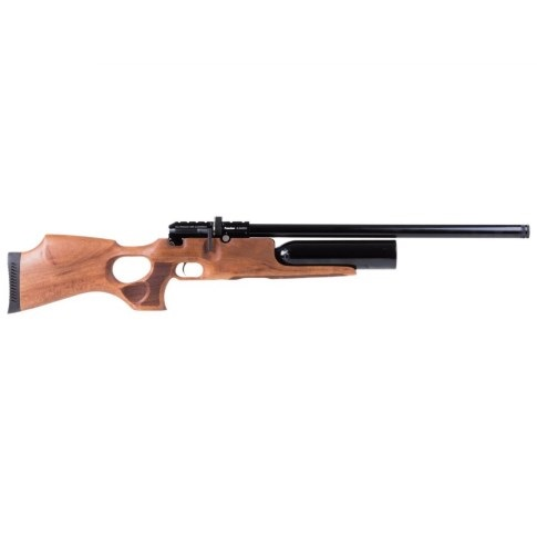 KRAL PUNCHER JUMBO PCP PRE-CHARGED AIR RIFLE .22 calibre 12 shot Turkish walnut thumbhole stock