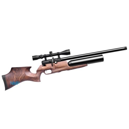 KRAL PUNCHER PRO 500 PCP PRE-CHARGED AIR RIFLE .22 calibre 12 shot Turkish walnut stock