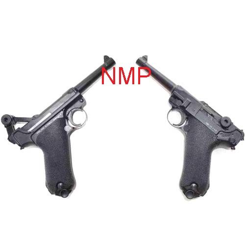 KWC 4.5mm BB 12g co2 Air Pistol Model ( P08 Luger ) - Blowback Full Metal Slide CO2 ( KWCKMB41AHN ) ( 21 Shot metal BB )