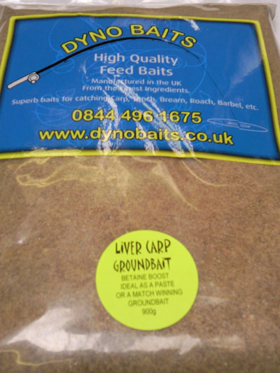 LIVER CARP BETAINE BOOST FLAVOUR Groundbait Quality Feed Baits (DYNO BAITS ) 900g bag