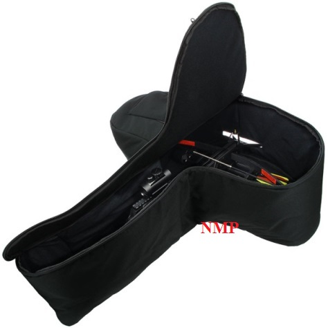 Large Black Crossbow Padded Bag (02)