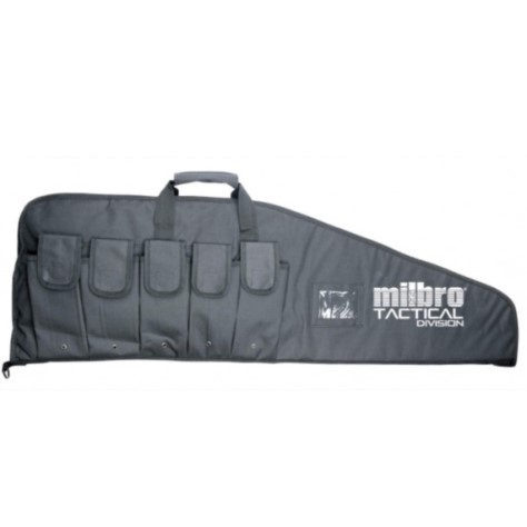 "42 inch Milbro Black Tactical Division Combat Gun bag for Airsoft and PCP Air Rifles 42"" x 12.5"""