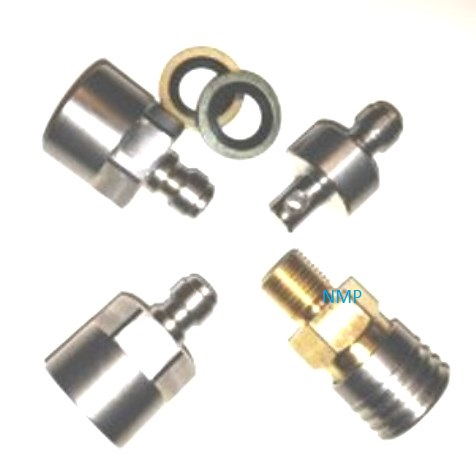 MULTI FIT COUPLING SET PCP Pre charged Guns fittings