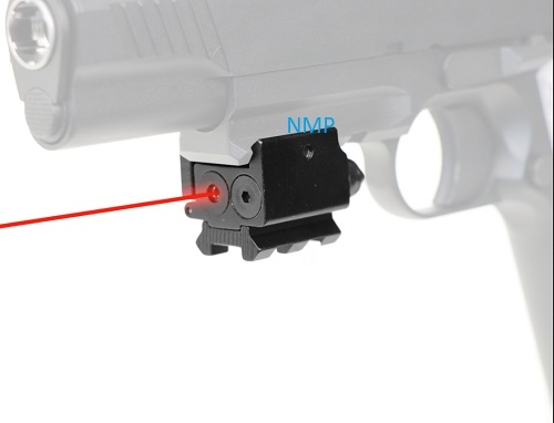Royal Micro Pistol Tactical Laser fit any Weaver, Picatinny accessory rail
