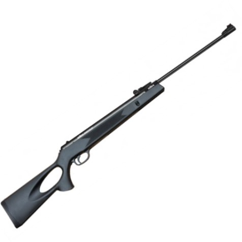 Milbro SPORTSMAN Synthetic Break Barrel Spring Action Air Rifle .22 calibre air gun pellet black
