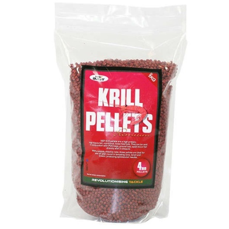 1kg bag of NGT Krill Feed Pellets 4mm