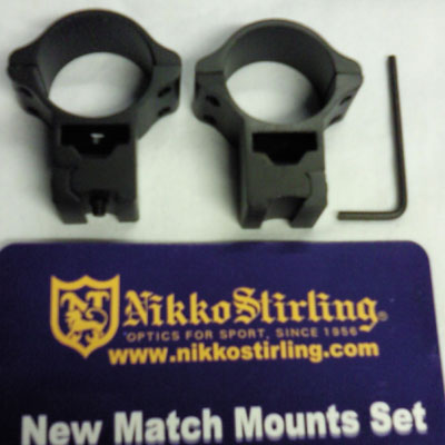 Nikko Stirling Match Mounts High 30mm Dovetail ( NM3038H )