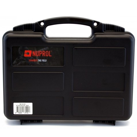 12 inch NUPROL Small Pistol Hard Case Black