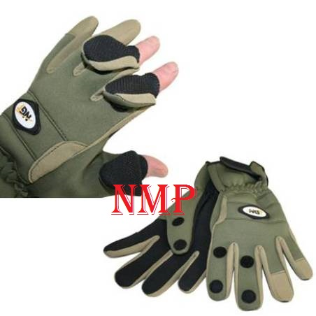 Neoprene Fishing & Shooting Gloves NGT Size: XL