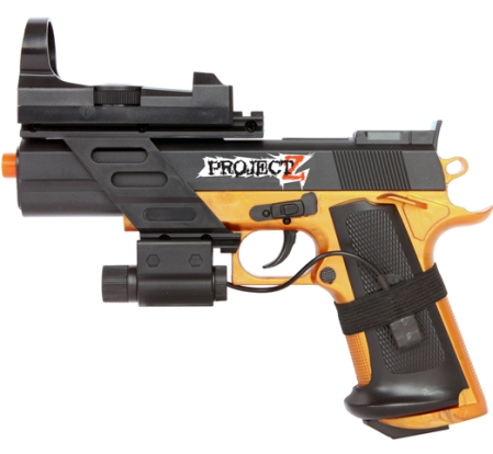 PROJECT Z INHUMAN COM-1 PISTOL ( 6mm BB Spring powered )