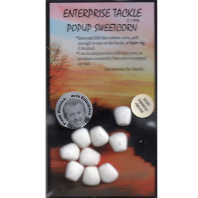 Enterprise Tackle (ARTIFICIAL / IMITATION BAITS:)  Sweetcorn White ( Fruity Pineapple ) Pop Up