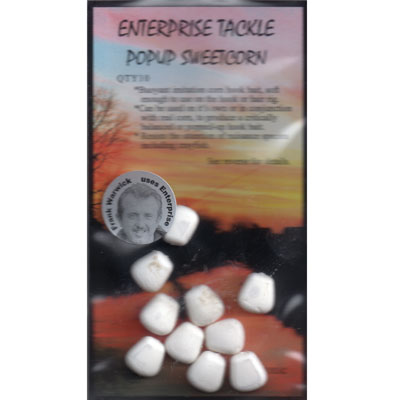 Enterprise Tackle (ARTIFICIAL / IMITATION BAITS:)  Sweetcorn White Pop Up