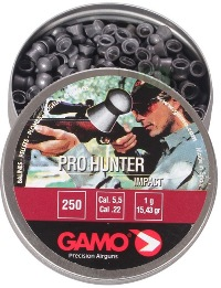 Gamo Pro Hunter Pellets .22 Tin of 250  ( 6321925 )