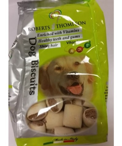 ROBERTS & THOMPSON MARROWBONE DOG BISCUITS WITH VITAMINS A/D3 AND E - 350g