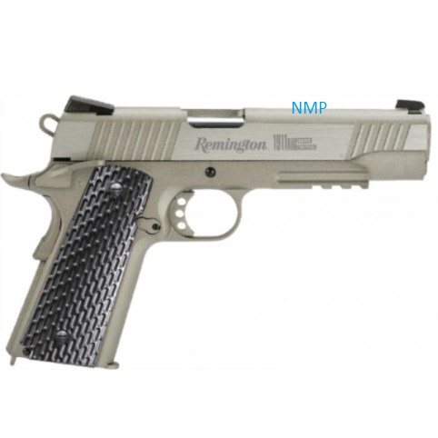 Remington 1911 RAC TACTICL SILVER 12g CO2 powered 4.5mm BB Pistol Semi Auto Blowback ( 18 Shot 177 Steel BB )