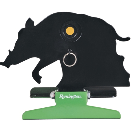 Remington Free Standing Pull String Folding Silhouette Knockdown Hog Target