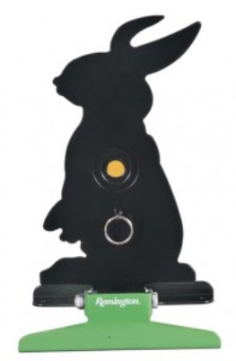 Remington Free Standing Pull String Folding Silhouette Knockdown Rabbit Target