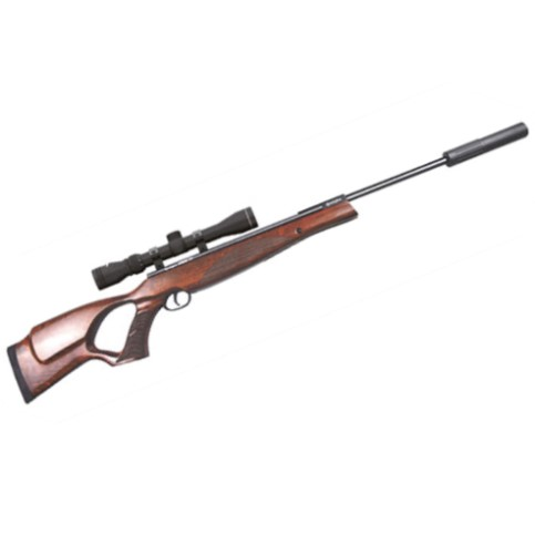 Remington SABRE TH™ Break Barrel Air Rifle .177 Calibre thumbhole sporter Wood Stock with 3-9x40 scope & mounts