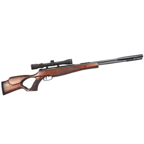 Remington WARHAWK™ Fixed barrel underlever Air Rifle .177 Calibre thumbhole sporter Wood Stock with 3-9x40 scope & mounts