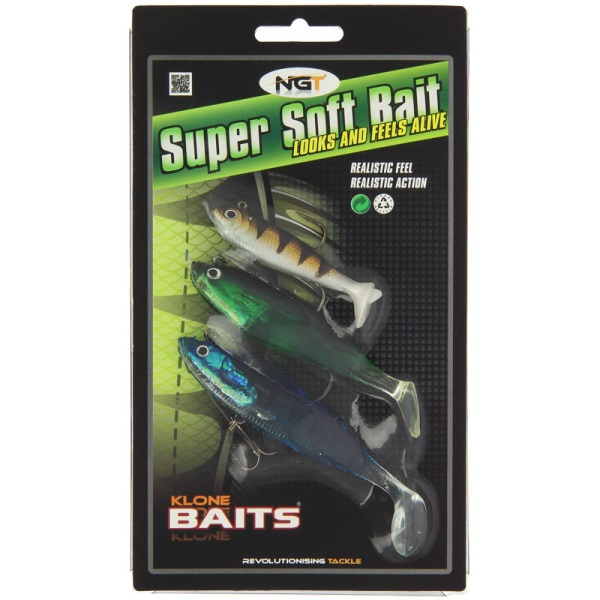 Pack of 3 Super Soft Baits (SB-005)