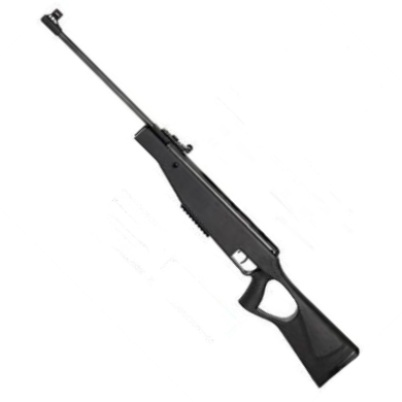 SMK SUPER GRADE XS19 Mauser SR Break Barrel Hunter Air Rifle Black Thumbhole Synthetic Stock .22 calibre air gun pellet