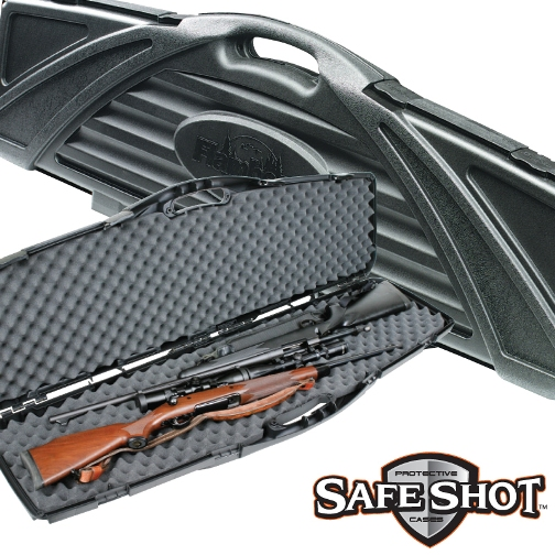 Flambeau Safe Shot Oversized Double Hard Gun Rifle Case Black ( 6499NZ ) 53.5 inch x 16.5 inch x 4.5 inch