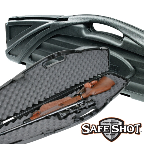 Flambeau Safe Shot Single Hard Gun Case Black ( 6470SE ) 53.5 inch x 13.5 inch x 4.5 inch