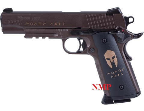 Sig Sauer 1911 Spartan Full Metal Blowback CO2 4.5mm BB 12g co2 Air Pistol