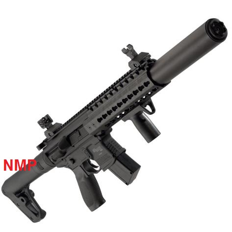 Sig Sauer MCX 30 Shot 88g CO2 Air Rifle Black .177 Calibre Pellet