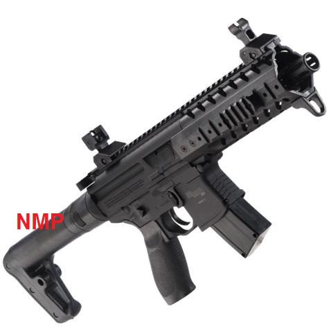 Sig Sauer MPX 30 Shot 88g CO2 Air Rifle Black .177 Calibre Pellet