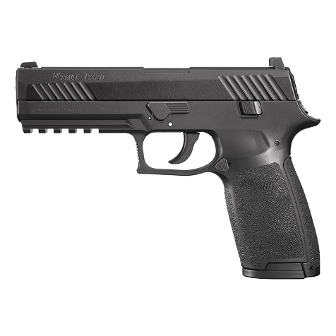 Sig Sauer P320 12g co2 Air Pistol Black Finish .177 Pellet (4.5mm) Rifled Barrel , 30 shot Pellet (sold as spares or repairs, collected from store and paid in cash) Ex Demo