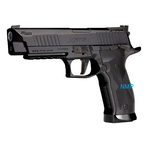 Sig Sauer X-Five Co2 Pistol Black Finish .177 calibre Pellet (4.5mm)