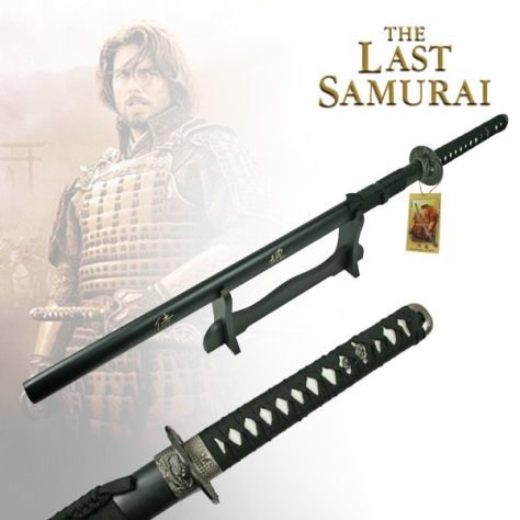 Single Straight 'Last Samurai' Sword & Stand (BS014036)