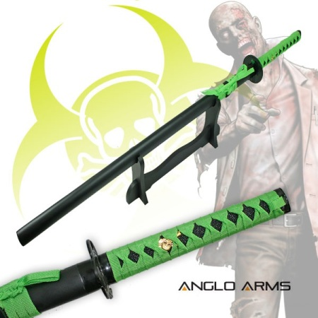 Single Straight Zombie Sword With Stand (964)