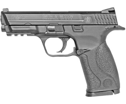 6MM AIRSOFT Pistol Smith & Wesson M&P 40 Metal Slide ( CO2 powered ) ( 15 shot 6mm BB ) with kit